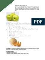 Vitaminas b Fruts y Verduras