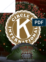 UCSD Circle K Newsletter - December 2013/January 2014