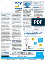 Pharmacy Daily for Wed 19 Feb 2014 - Moratorium call on 5CPA, Davies to head up EBOS, Corum profit dives, Health