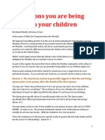 Six Reasons You Are Being Unfair to Your Children