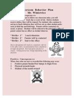 Behavior Plan GregWiniewicz2