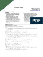 Tim Doty resume