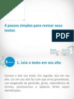 4passos Simples Para Revisar Seus Textos