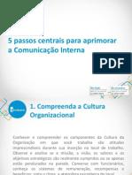 5 passos centrais para aprimorar a Comunicação Interna