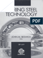 Bearing Steel Technology, ASTM STP 1419 (Astm Special Technical Publication Stp) [John M. Beswick]