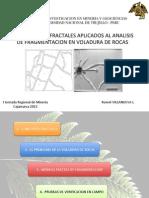 Conceptos de fractales aplicados a la voladura de rocas - Romel Villanueva - Iiming