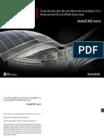 Guía de estudio de certificación AutoCAD Associate V1