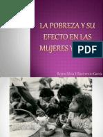 Presentacion Ensayo Sociologia. La pobreza y su efecto en las mujeres y niños