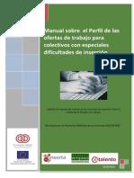 Manual El Perfil de La Oferta Laboral Empleo Con Apoyo 1
