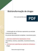 Farmacologia Biotransformaçao