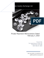 confidential private offering memorandum final version second offering 020514 final pdf version