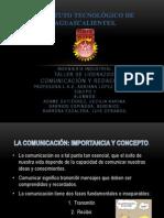 COMUNICACION Y REDACCIÓN.