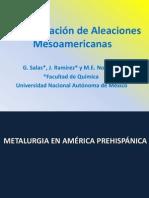 Caracterización de Aleaciones Mesoamericanas