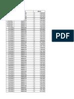 Ejemplo Base de Datos Excel