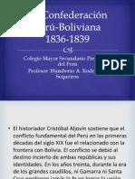 La Confederación Perú-Boliviana