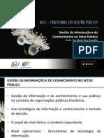 Gestão da Informação e do Conhecimento no Setor Público (Prof. Maria Elisa Brandão)