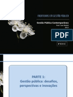 Gestão Pública Contemporânea (Prof. Caio Marini)