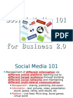 Social Media 101 for Business 2.0-Rescale