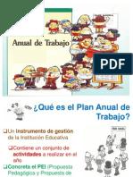 3.5. Plan Anual de Trabajo