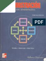 Chiavenato 2001 Administracion Proceso Administrativo