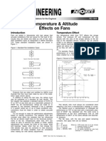 Temperature and Altitude Effects on Fans Fe 1600