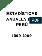 ESTADÍSTICAS PERU 1999-2009