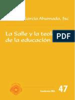 La Salle y la Teología de la Educación