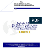 Kit Educa Profe Trabajo Infantil