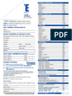 Application Form 2011 Season