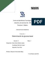 Practica No. 1 Determinacion de Glucosa Basal (1)