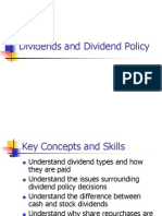 Chapter 17 Dividend.policy
