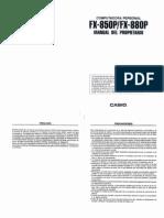 Manual FX-880P - Español (Completo)
