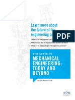 State of Mechanical Engineering Today and Beyond