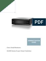 Cisco SG200-08P Admin Manual