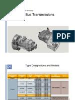 6-speed synchromesh transmission for small trucks: ZF