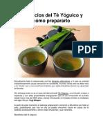 Beneficios del Té Yóguico y cómo prepararlo