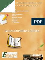 Evaluacion Interna y Externa