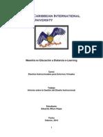 Informe de Gestión Final Diseños Instruccionales