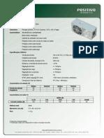 Catalogo Fonte PI-T300G-S(01) Gold