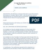 The Kerry-Lugar Bill