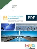 CSP in India Summary