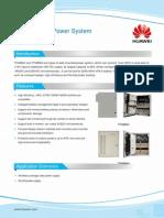 Wall-Mounted Power Datasheet