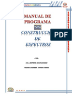 Manual- Construccion de Espectros
