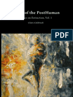 Death of the Posthuman Essays on Extinction Volume One