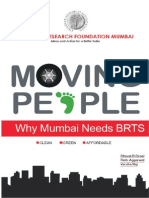 Moving People Not Cars - Why Mumbai Needs BRTS