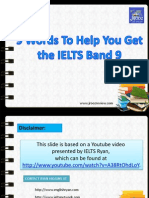 IELTS Vocabulary 9 Words to Get IELTS Band Score 9