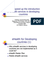 How to Speed Up the Introduction of eHealth Services In