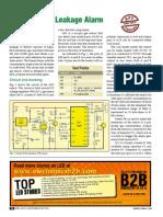 Sensitive LPG Leakage Alarm
