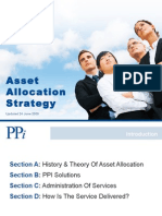 PPI Asset Allocation Strategy Updated June 2009