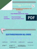 Electrorefinación+Cu